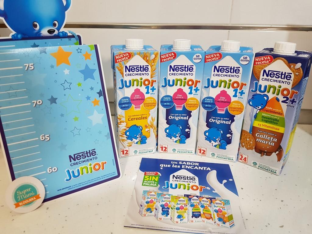 Probamos Nestlé Junior Crecimiento