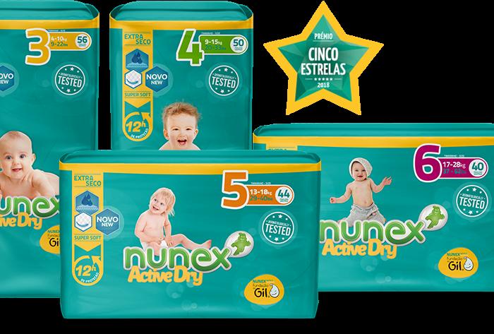 Descubre los nuevos pañales Nunex